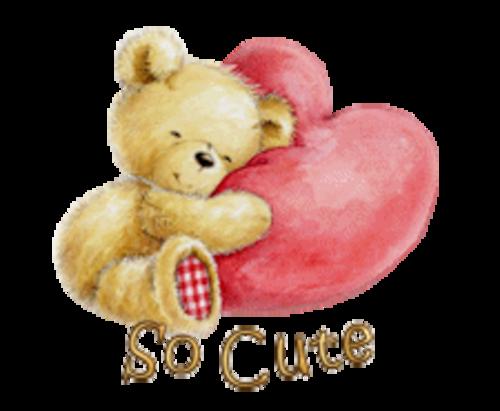 So Cute - ValentineBear2016