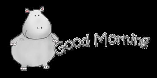 Good Morning - CuteHippo2018