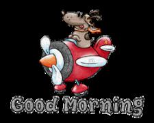 Good Morning - DogFlyingPlane