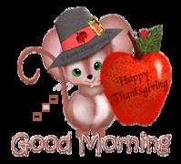 Good Morning - ThanksgivingMouse