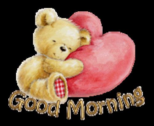 Good Morning - ValentineBear2016