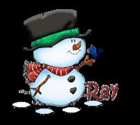 Ray - Snowman&Bird