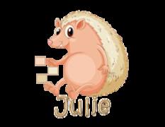 Julie - CutePorcupine