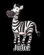 Julie - DancingZebra