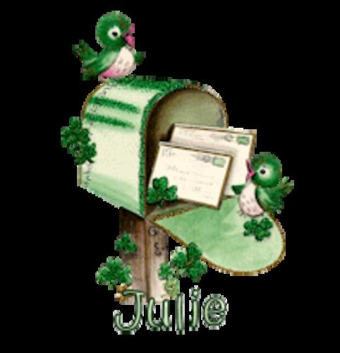 Julie - StPatrickMailbox16