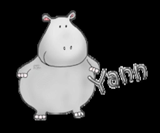 Yann - CuteHippo2018