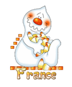 France - CandyCornGhost