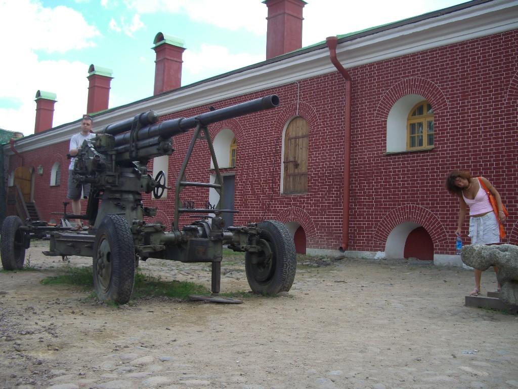 Kanone in der Festung Peter&Paul