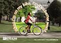 When I'm on my bike...