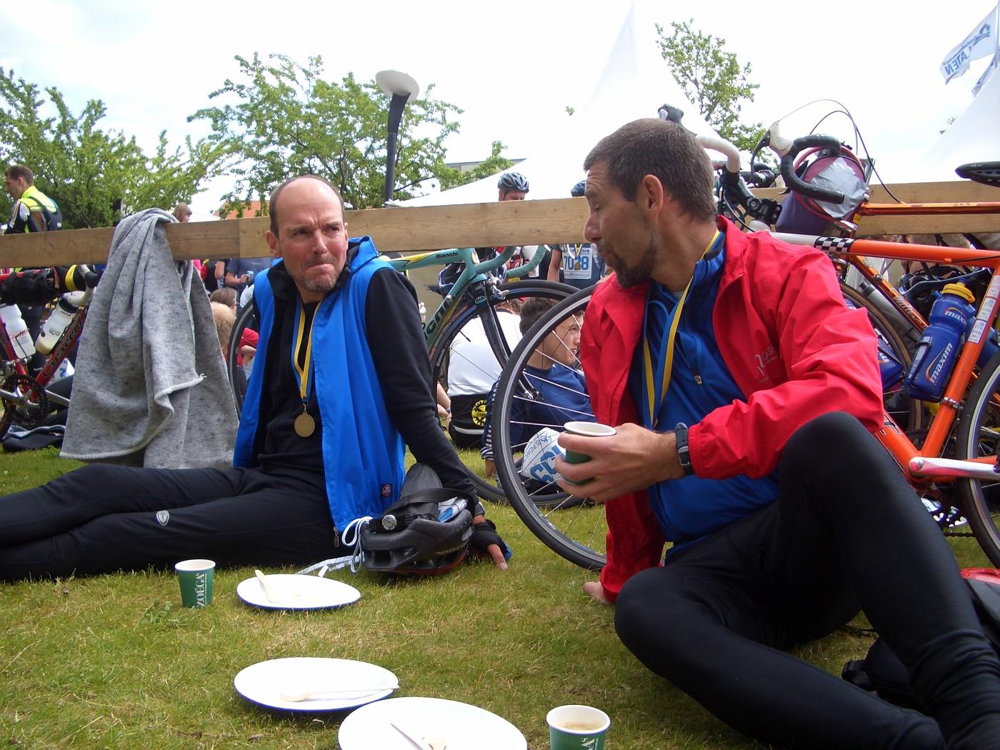 Bernd & Andreas füllen die Speicher wieder auf