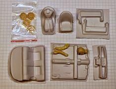 IK-001 1:24 Interior kit for Mini Cooper