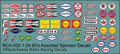 RCA-032 1:24 60's sponsors