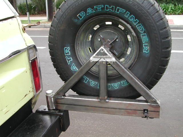 Spare Tire Mount The 1947 Present Chevrolet Amp Gmc