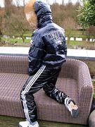 Shiny furwear