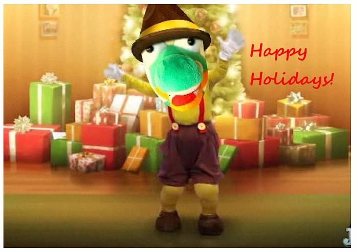 Happy Holidays Snappie