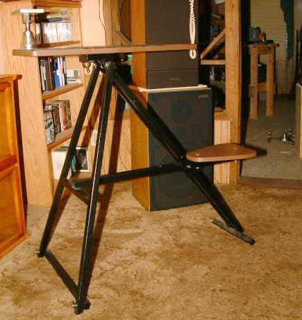 folding shooting bench plans