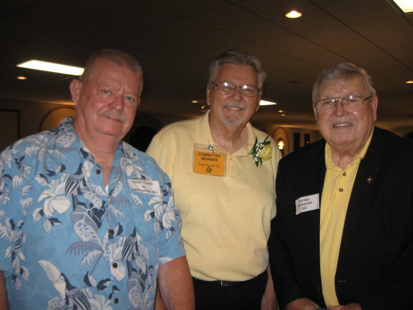Al Lancaster, Fred Varney, Russ Mandziara