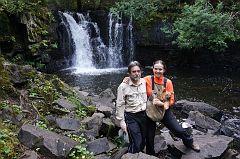 At Lower Johnson Falls