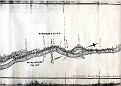 CANAL ROUTE SURVEY MAP 1803 - 1B
