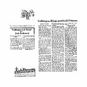 Cabbages and Kings Volume 02, 1975-007