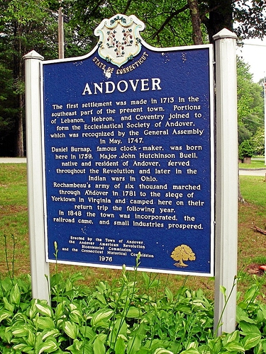 ANDOVER - HISTORY