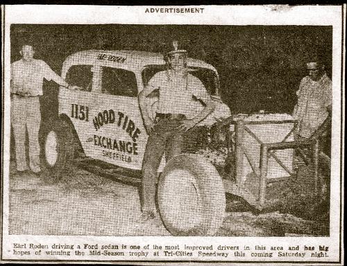 Earl Roden CAR # 1151