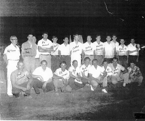 Tri Cites Racing club 1955
