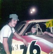 Edwin and Derek at Sayre 1977