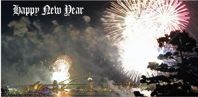 News photo of NYE in Sydney 002