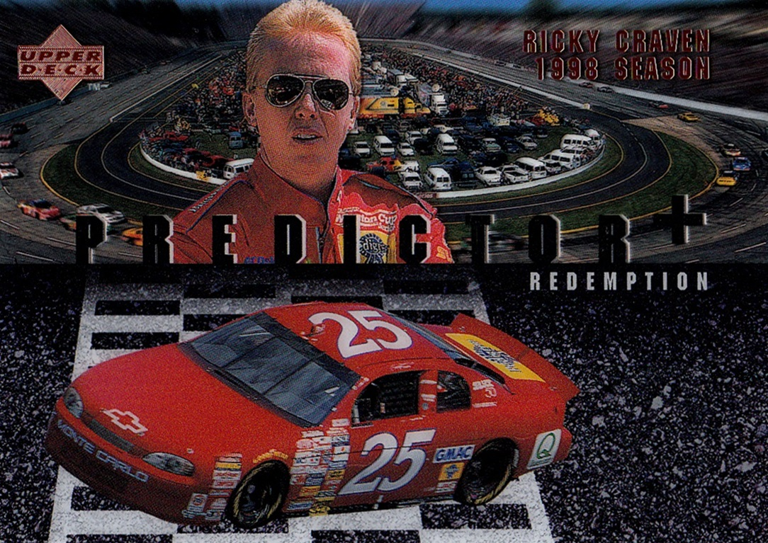 1998 Upper Deck Victory Circle Predictor+ Redemption #PR+16 (1)
