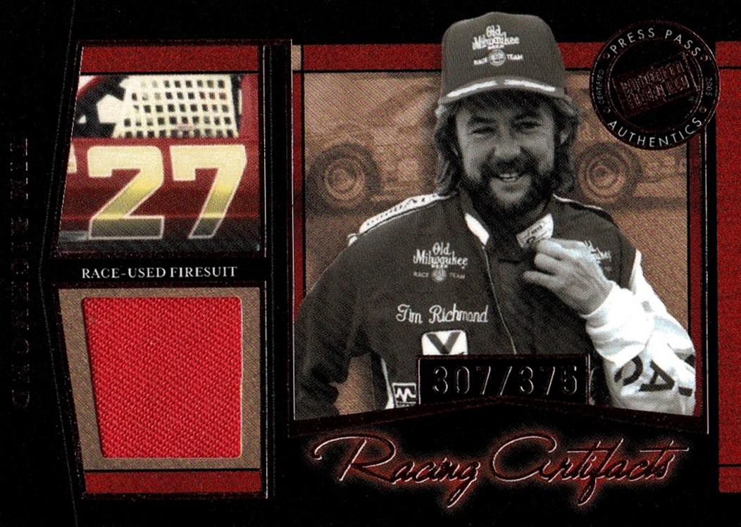 2005 Legends Racing Artifacts Tim Richmond (1)