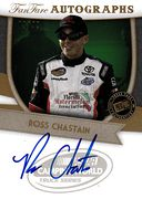 2012 FanFare Autographs Gold Ross Chastain (1)