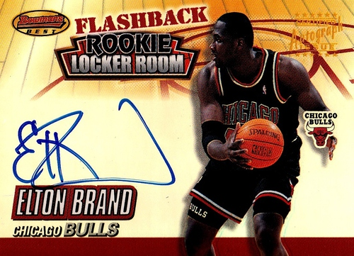 2000-01 Bowman's Best Flashback Rookie Locker Room Autographs #LRCF2 (1)