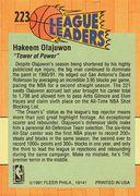 1991-92 Fleer #223 (2)