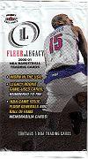 2000-01 Fleer Legacy pack (1)
