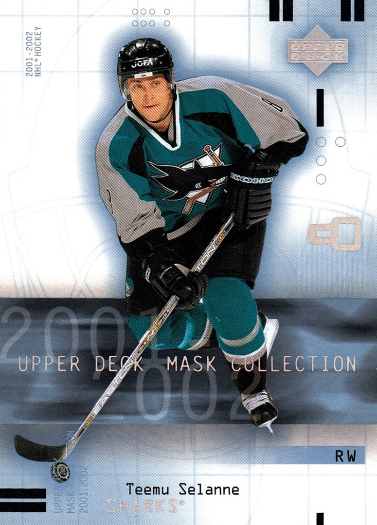 2001-02 Upper Deck Mask Collection #082 (1)