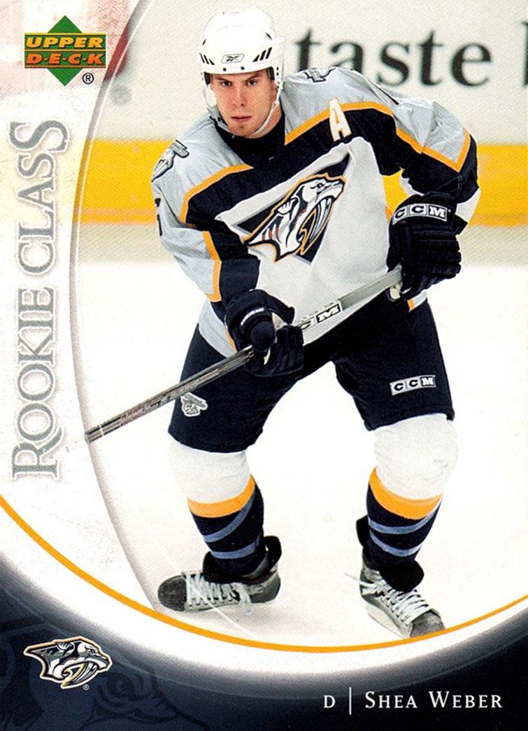 2006-07 Upper Deck Rookie Class #01 (1)