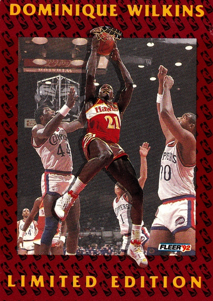 1991-92 Fleer Dominique Wilkins #11 (1)