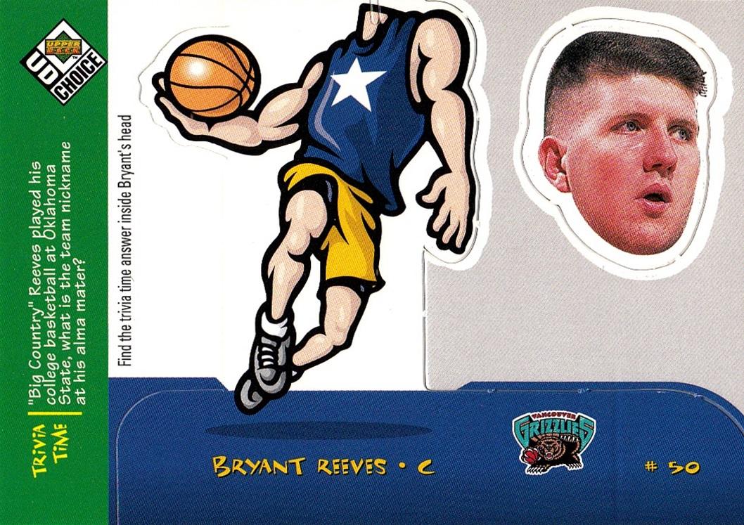 1998-99 UD Choice Mini Bobbing Heads #28 (1)