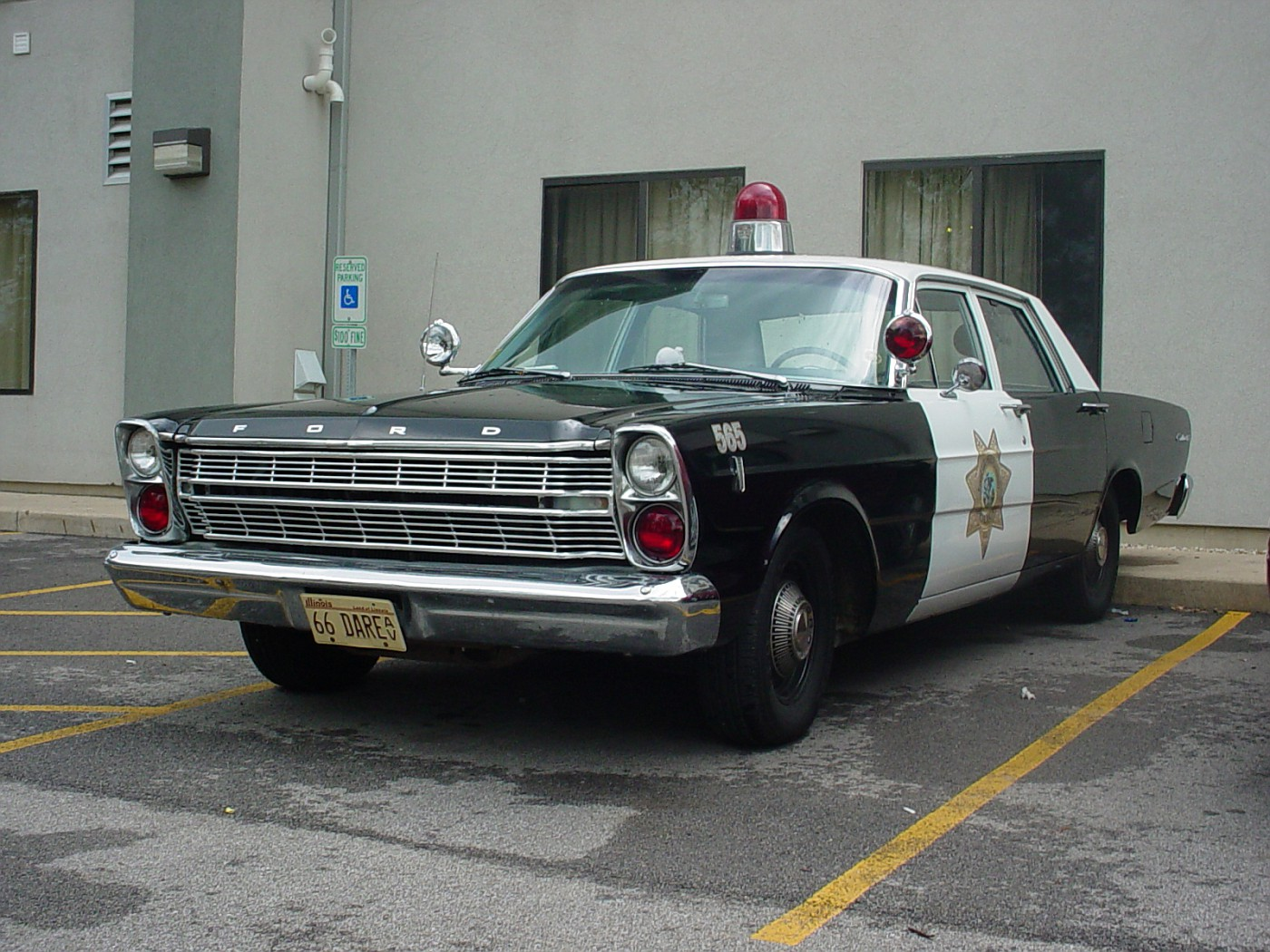 1966 Ford Custom police package