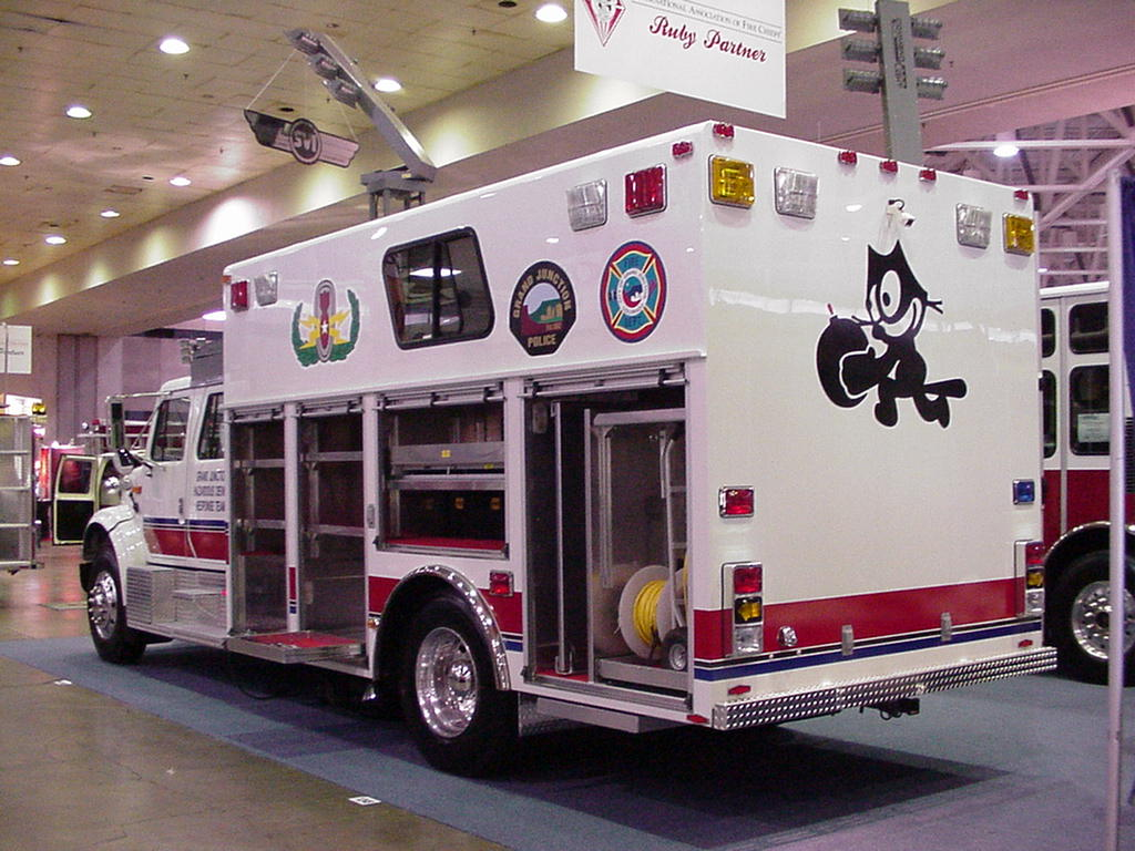 Fire-Rescue International 2000 at Dallas Convention Center, August 2000