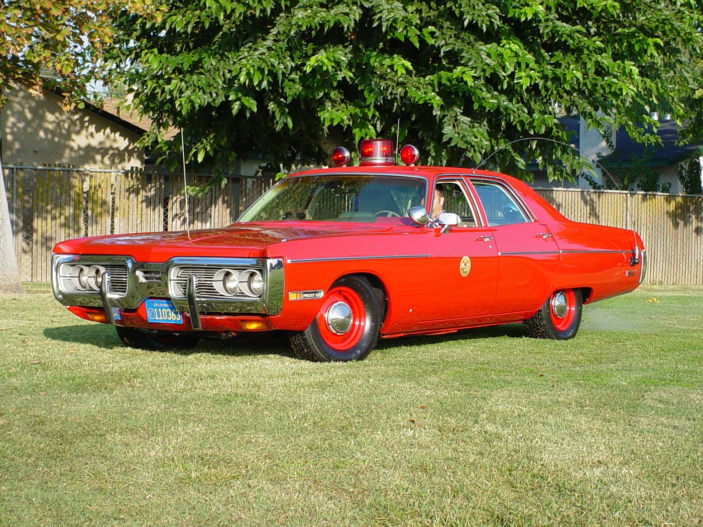 1972 Plymouth Fury