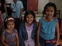three girls of Jewish descent in the Iquitos shul
