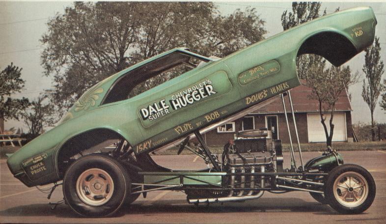 Bernie Adams '68 Camaro 'Dale Chevrolet Super Hugger' 3