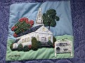 HARWINTON - HARWINTON LIBRARY - 250th ANNIVERSARY QUILT 03