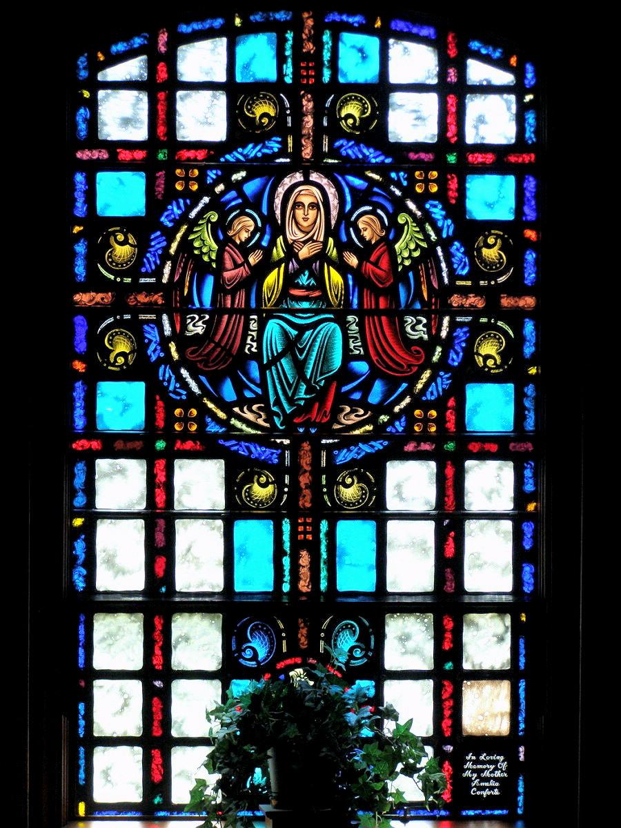 MILFORD - SAINT MARY CHURCH - STAINED GLASS - 03.jpg