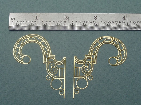 Large Ornate Brackets