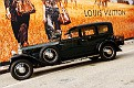 1927 Rolls-Royce Phantom I Town Car owned by The Petersen Vuitton billboard