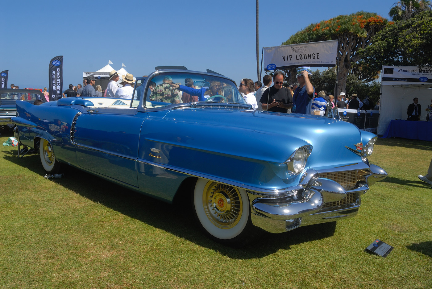1956 Cadillac Eldorado convertible owned by John Ellison, Jr, of The Calumet Collection DSC 3755 - Copy