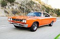 03 1968 Plymouth Road Runner front three quarter view tracking